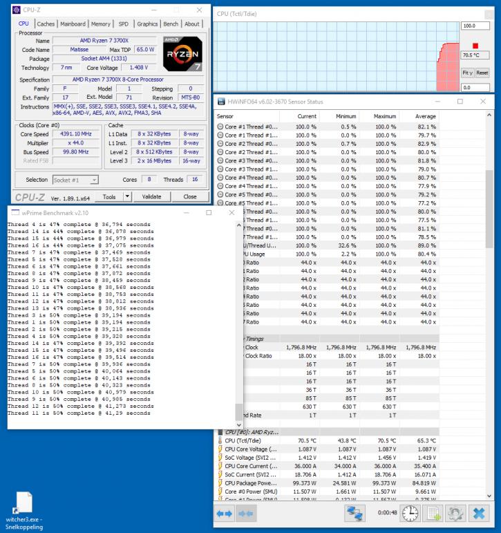 AMD Ryzen 7 3700X & Ryzen 9 3900X review - Overclocking and tweaking