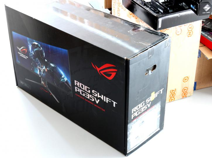 ASUS RoG Swift PG35VQ Monitor review - Photo overview