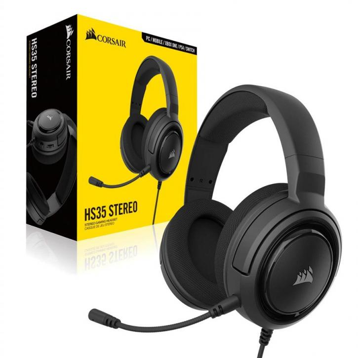 Corsair HS35 Stereo Gaming Headset Review - Final Words