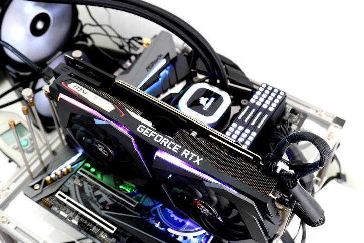 MSI GeForce RTX 2070 SUPER Gaming X review - Hardware Setup