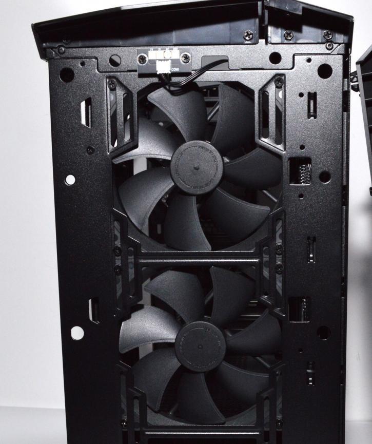 Обзор Fractal Design Vector RS - Витрина продукта - Экстерьер / Интерьер
