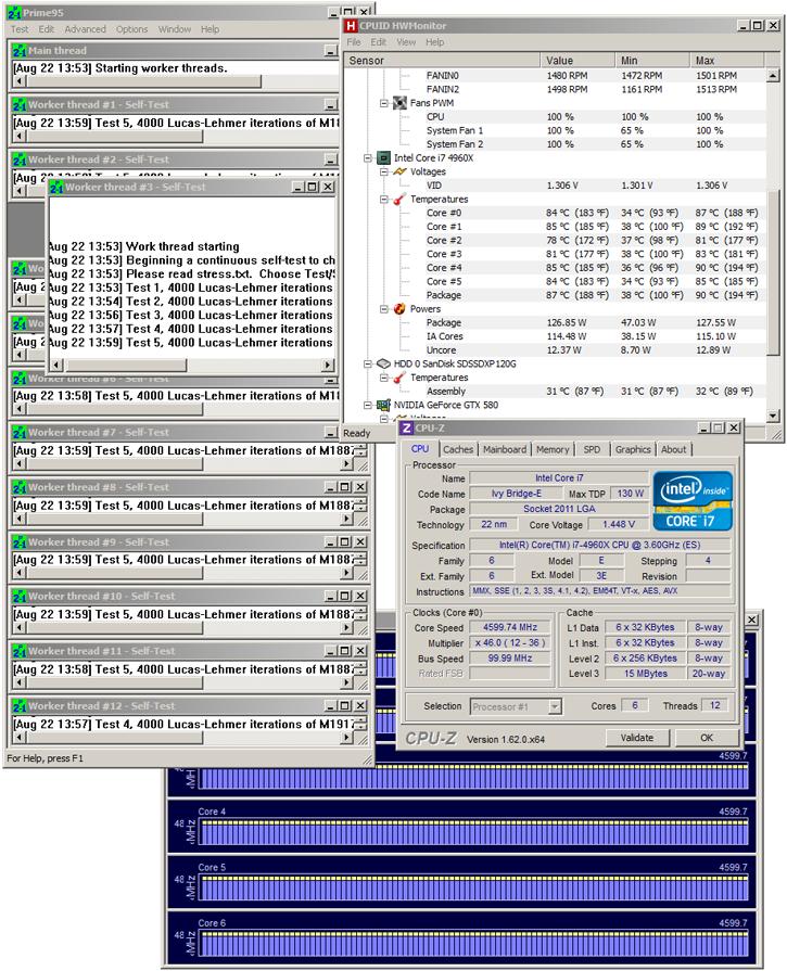 Core i7 4960X processor review - Overclocking - The Core i7