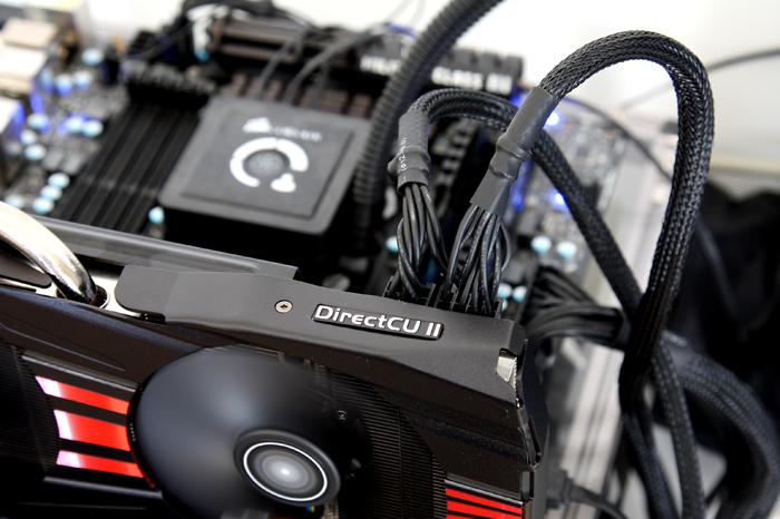 ASUS Radeon R9-280X DirectCU II TOP review - Hardware setup | Power