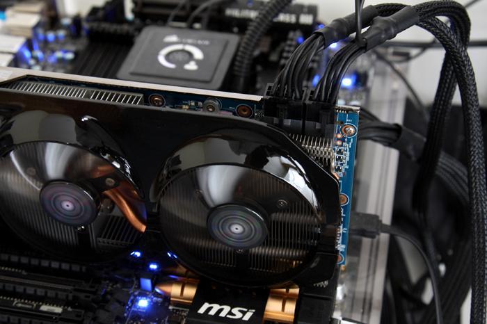 Gigabyte Radeon R9-280X WindForce OC review - Hardware setup | Power