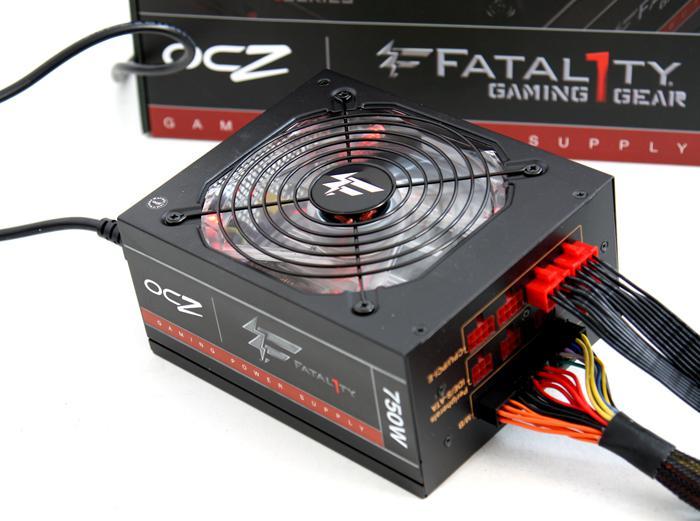 OCZ Fatal1ty 750W PSU review - Introduction