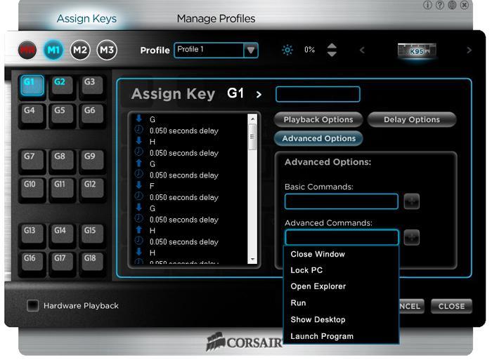 assigning function keys