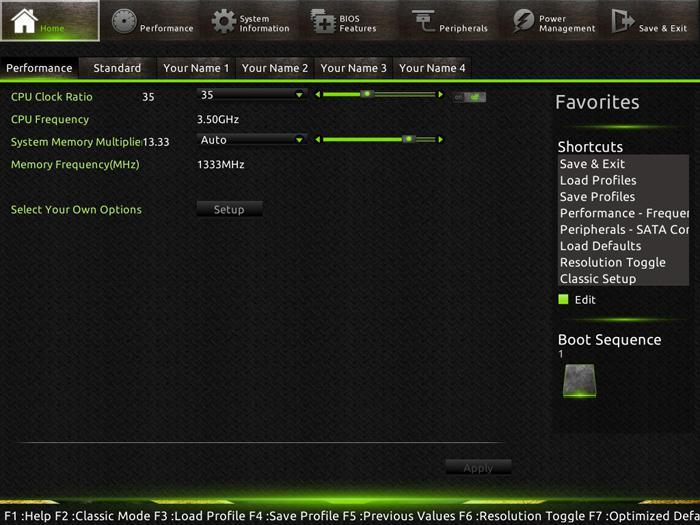 Gigabyte G1 Sniper B5 review - The UEFI BIOS
