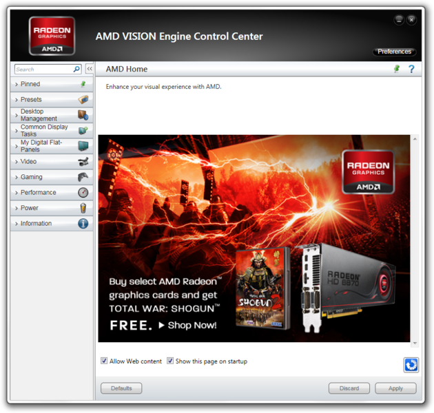 how to fix amd catalyst control center