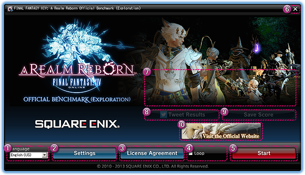 Final Fantasy XIV: A Realm Reborn PC Benchmark Download v1 0 0 2