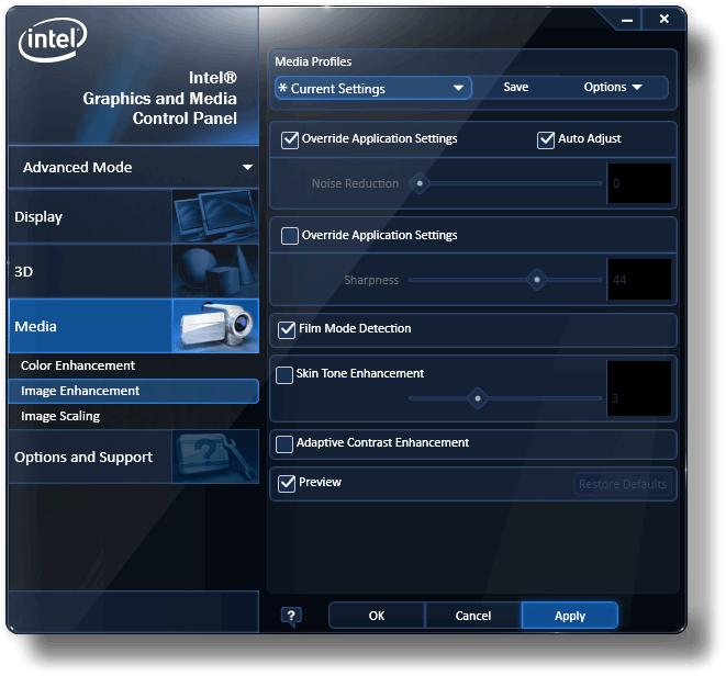 Intel WHQL Graphics Driver Windows 8 64-bit