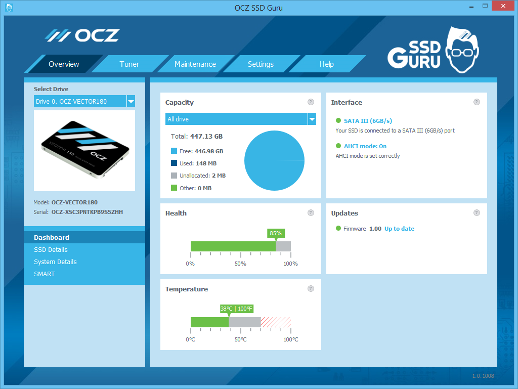 OCZ SSD Guru Download v1 5 2312