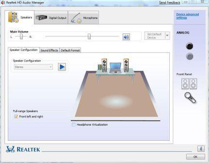 realtek hd audio manager download windows 7 32 bit