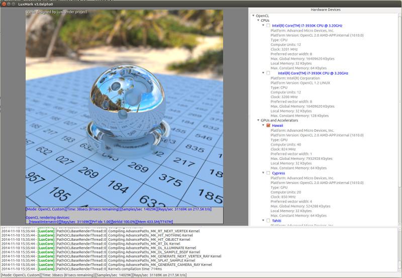 LuxMark v3 1 download