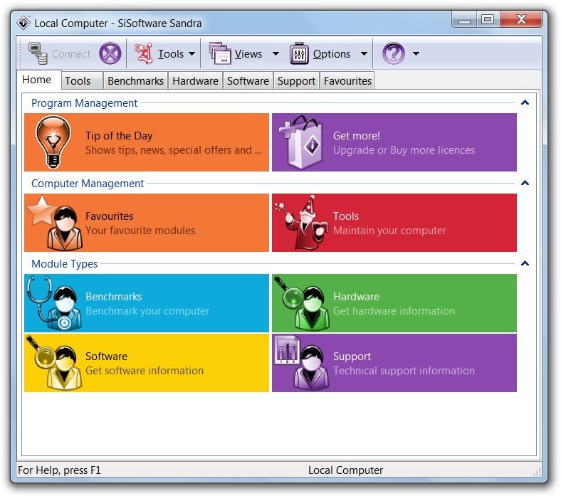 Resultado de imagem para SiSoftware Sandra 2015