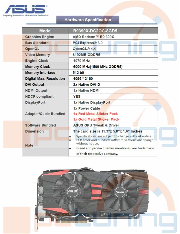 XFX places Radeon R9 390X on website