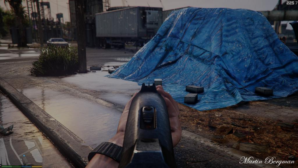 GTA V Mod Aiming Show More Photorealistic Graphics