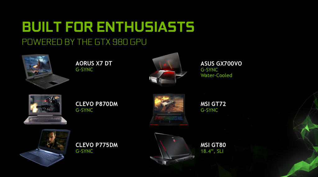 Nvidia brings full GeForce GTX 980 towards laptops