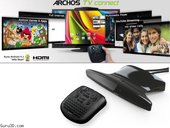 Archos TV Connect - Make your TV an Android PC