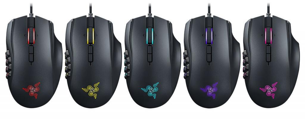 Razer Launches New Naga Chroma MMO Mouse