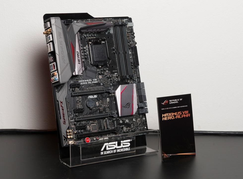 ASUS Maximus VIII Hero Alpha has RGB LED strip control
