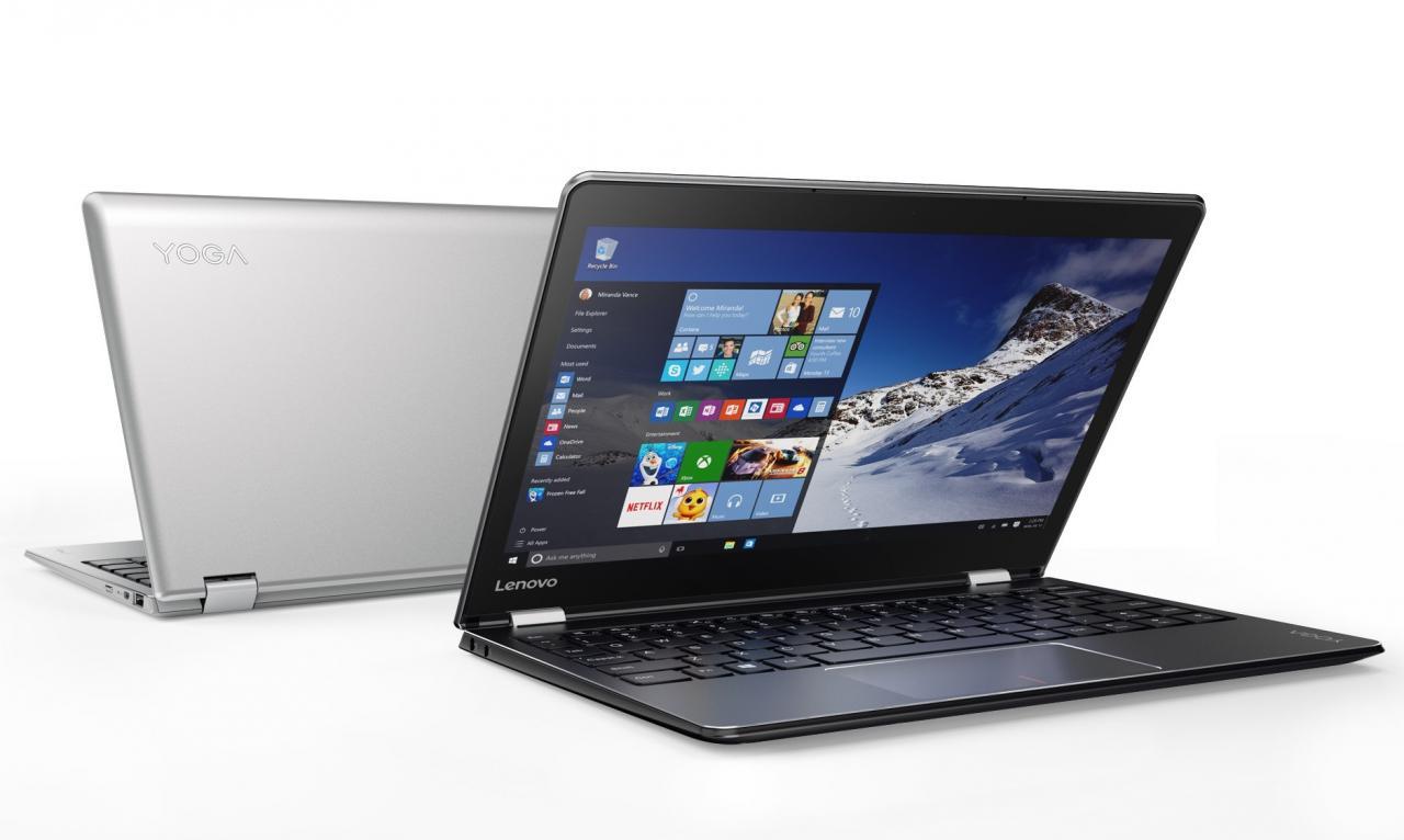 Lenovo YOGA 710 and 5101 convertible laptops and MIIX 310 2