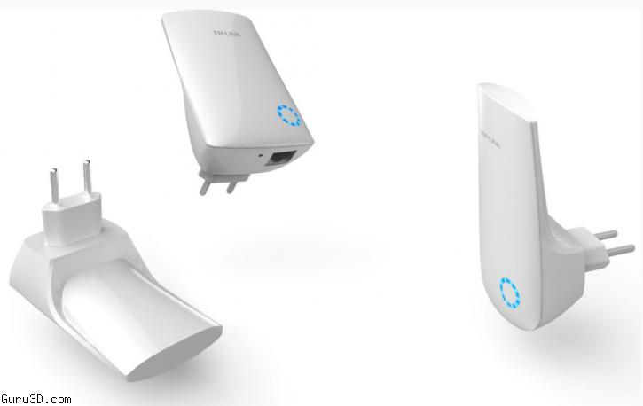 TP-LINK releases New Wall Socket-Mounting Wireless Range Extender