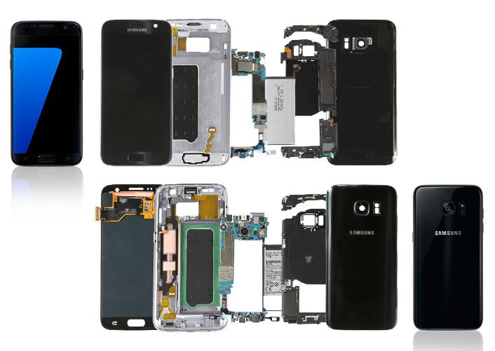 Inside the Galaxy S7 and S7 edge