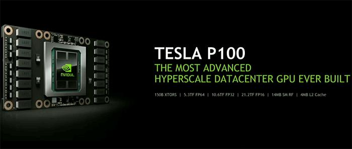 Nvidia announces Tesla P100 data-center GPU