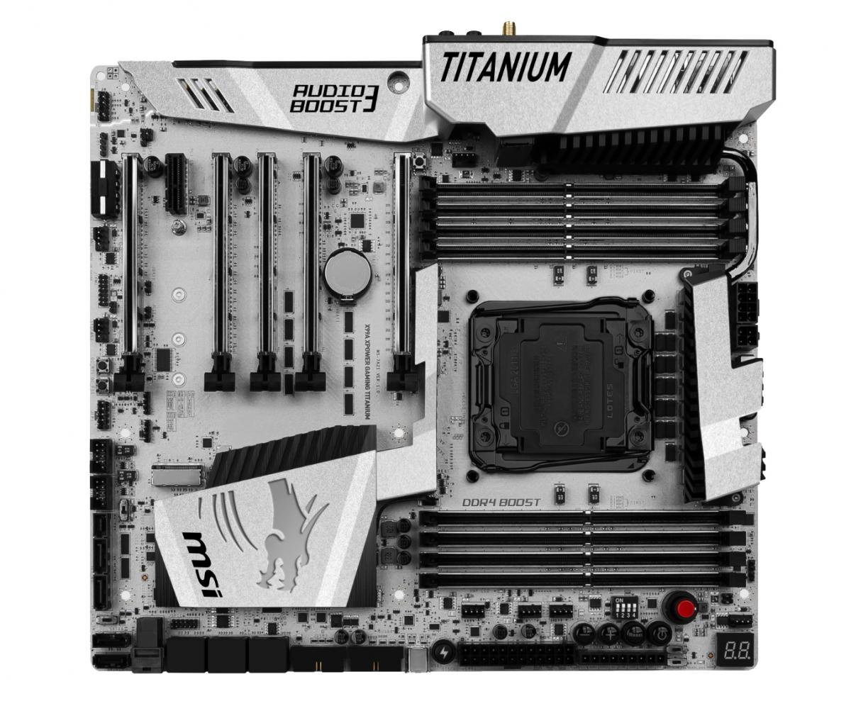 Msi X99 And Z170 Titanium Motherboards High Res Photos Motherboard Intel X99a Gaming Pro Carbon New