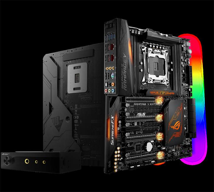 ASUS Unveils Eight ROG products, Avalon prototype and Rampage V