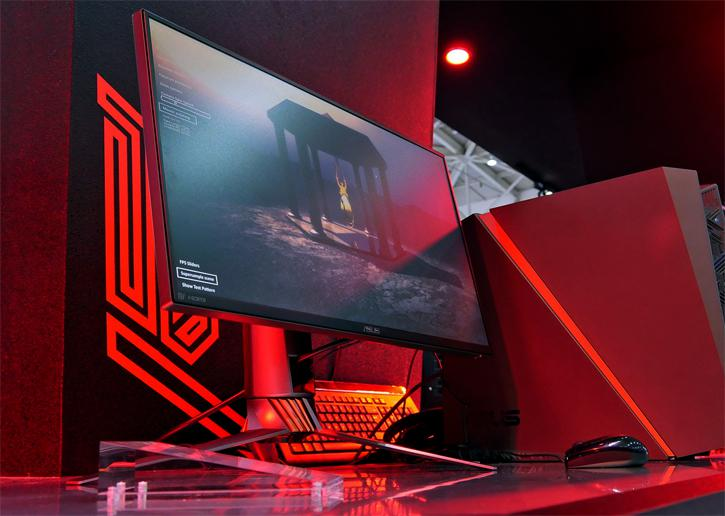 ASUS Also Shows PG258Q - a 24 5-in monitor with 240 Hz panel