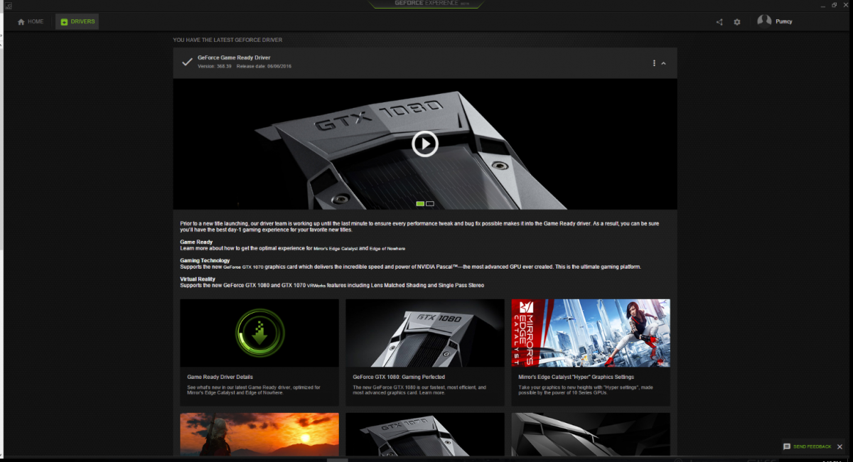 Nvidia Updates GeForce Experience - Accounts and Passwords