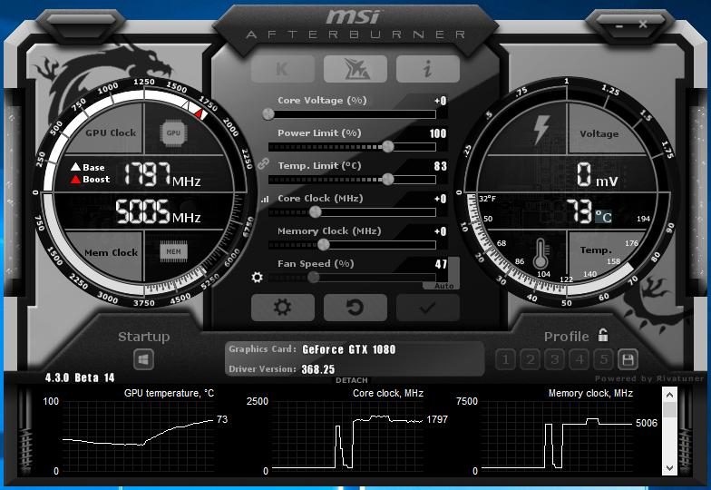 Download MSI AfterBurner 4 3 0 Beta 14
