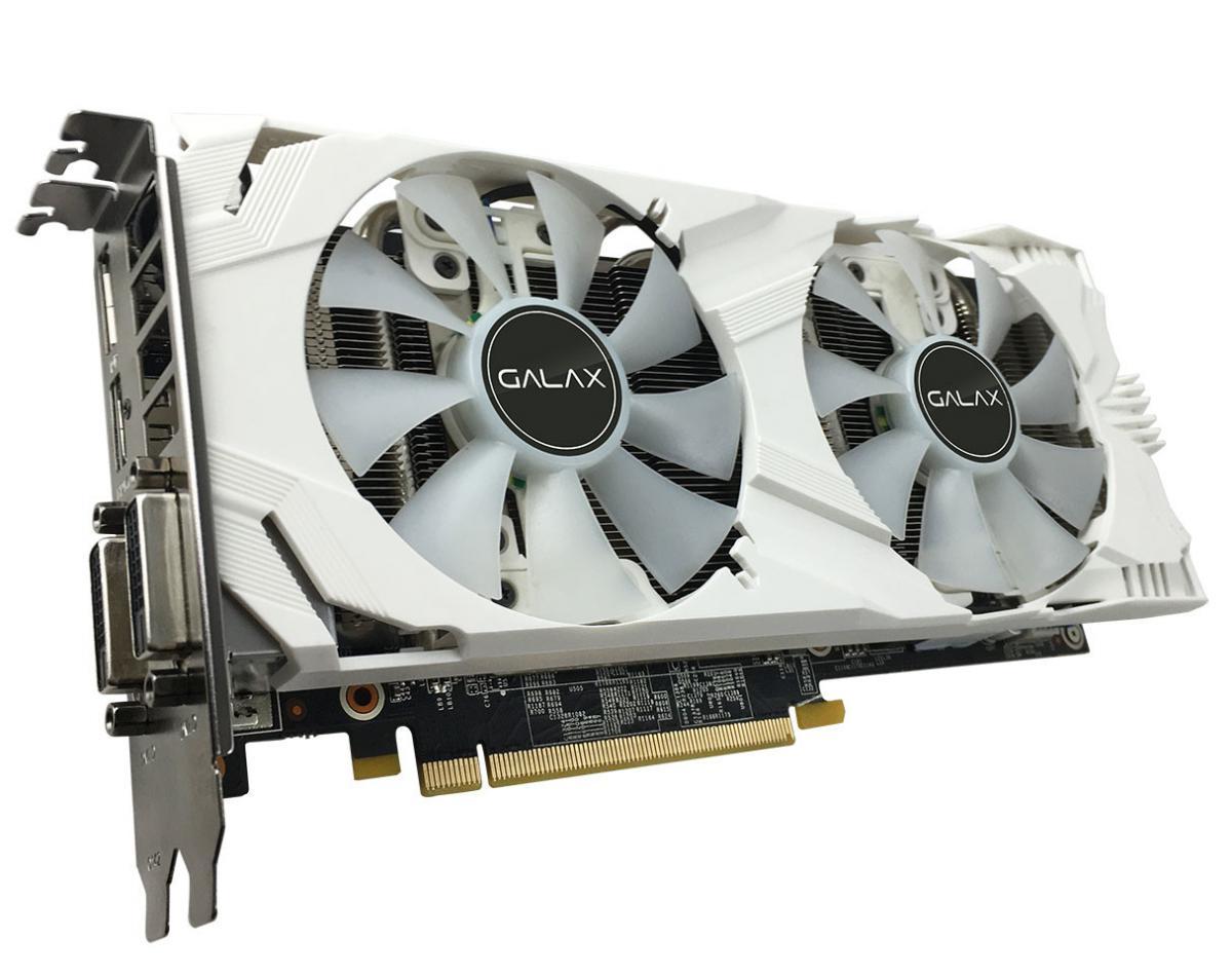 GALAX Releases GeForce GTX 1060 6GB EXOC White Edition