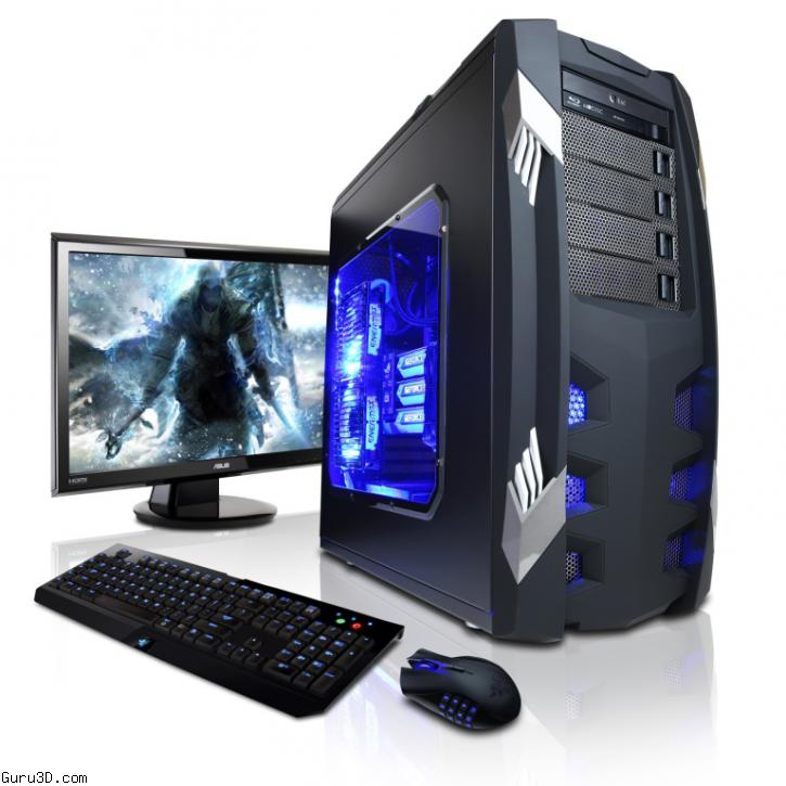 Cyberpowerpc Launches Gaming Pc Series Based On Geforce