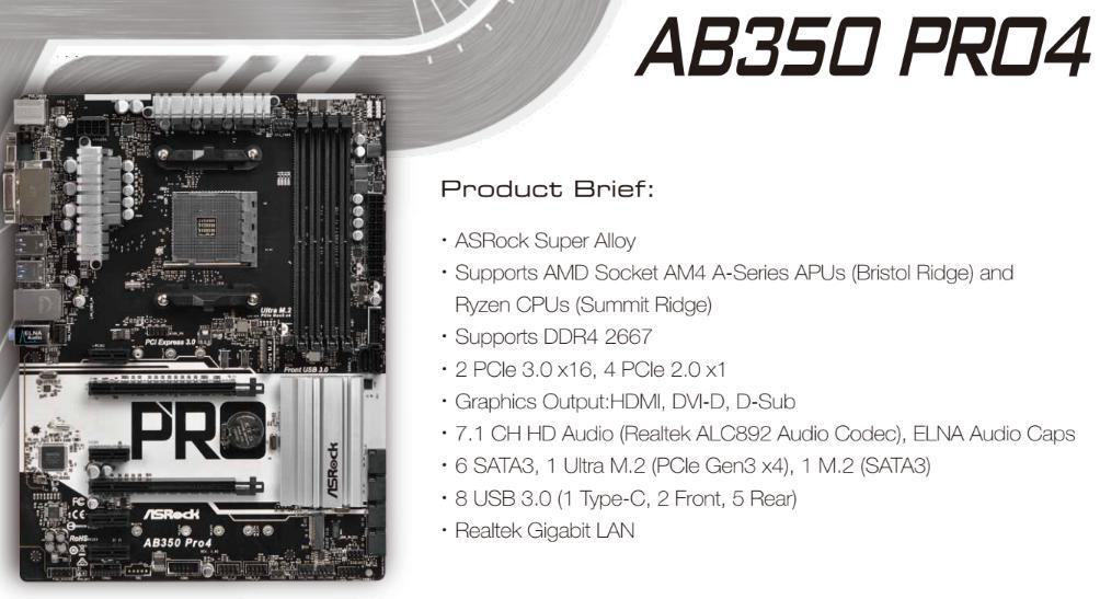 ASRock Introduces Nine AM4 motherboards - 5 Gbit LAN for X370