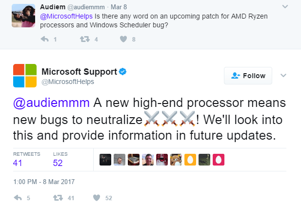 Microsoft Windows Bug Is Holding Back AMD Ryzen