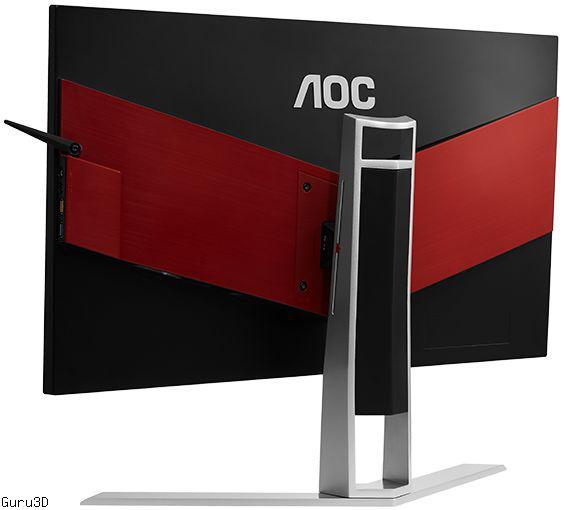 AOC AGON AG271UG monitor with 4K IPS display and NVIDIA G-SYNC