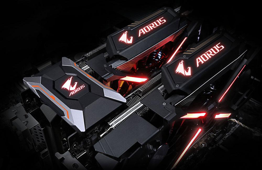 Gigabyte Unveils Full AORUS Graphics Card Lineup