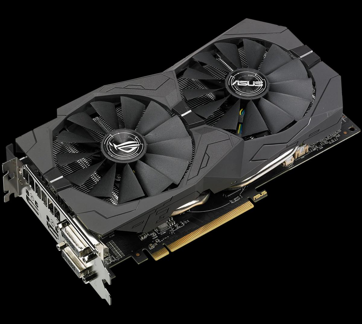 ASUS ROG Launches Strix RX 580 and 570