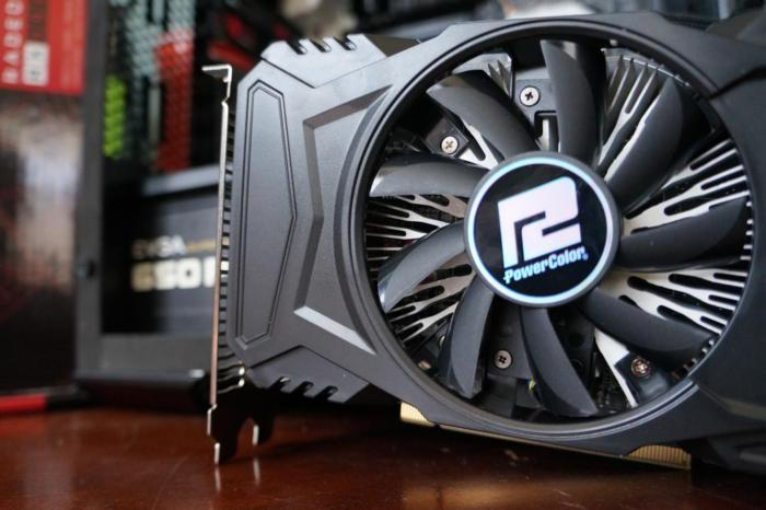 Powercolor Rx 550 Red Dragon Spotted Tested