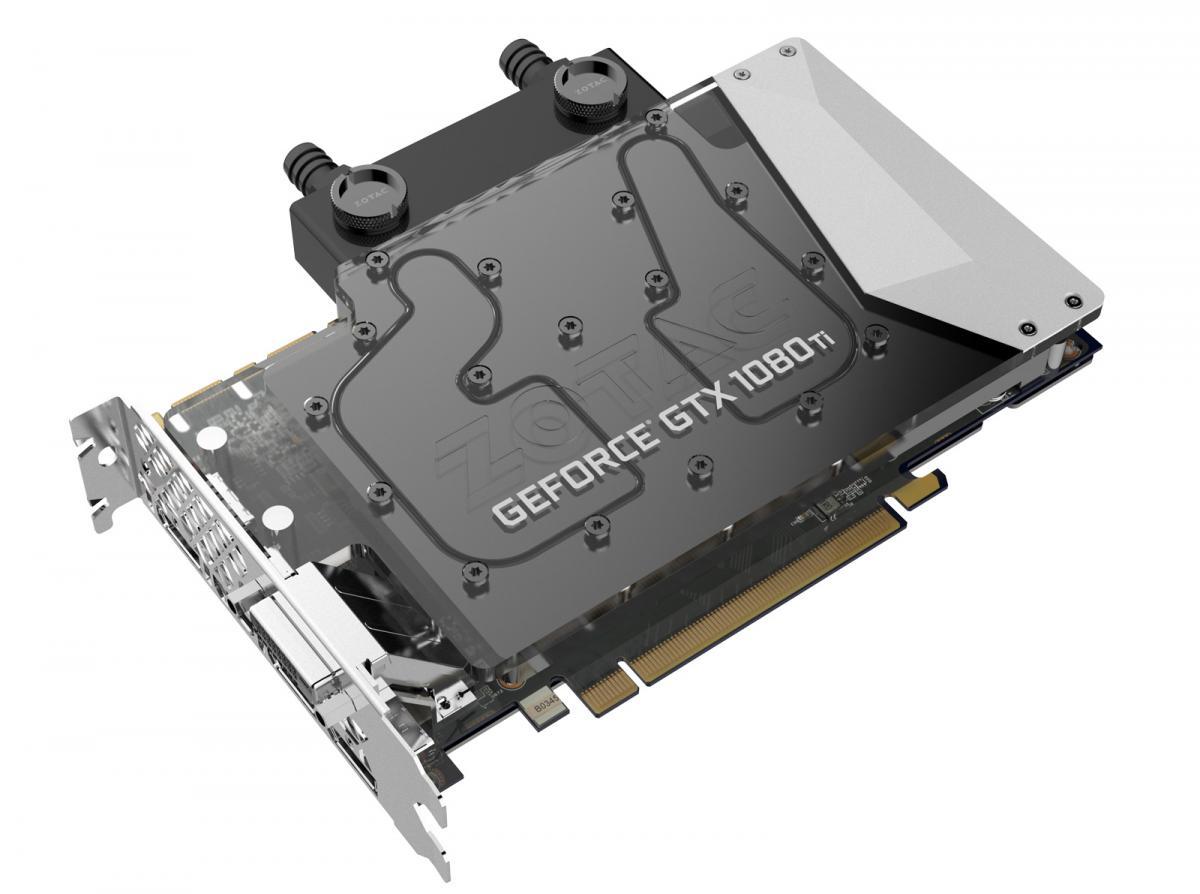 Zotac Shows GeForce GTX 1080 Ti Mini and GeForce GTX 1080 Ti