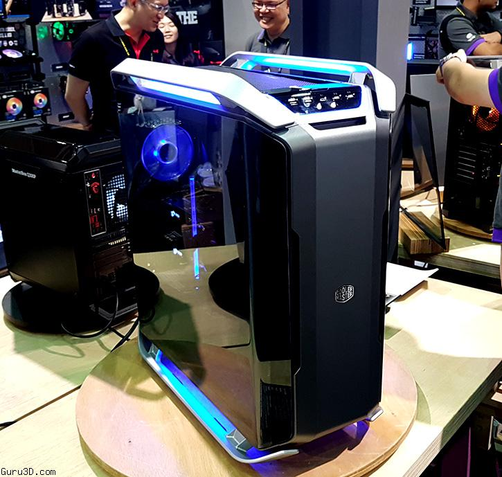 Computex 2017 Cooler Master Presents C700p A New Modern