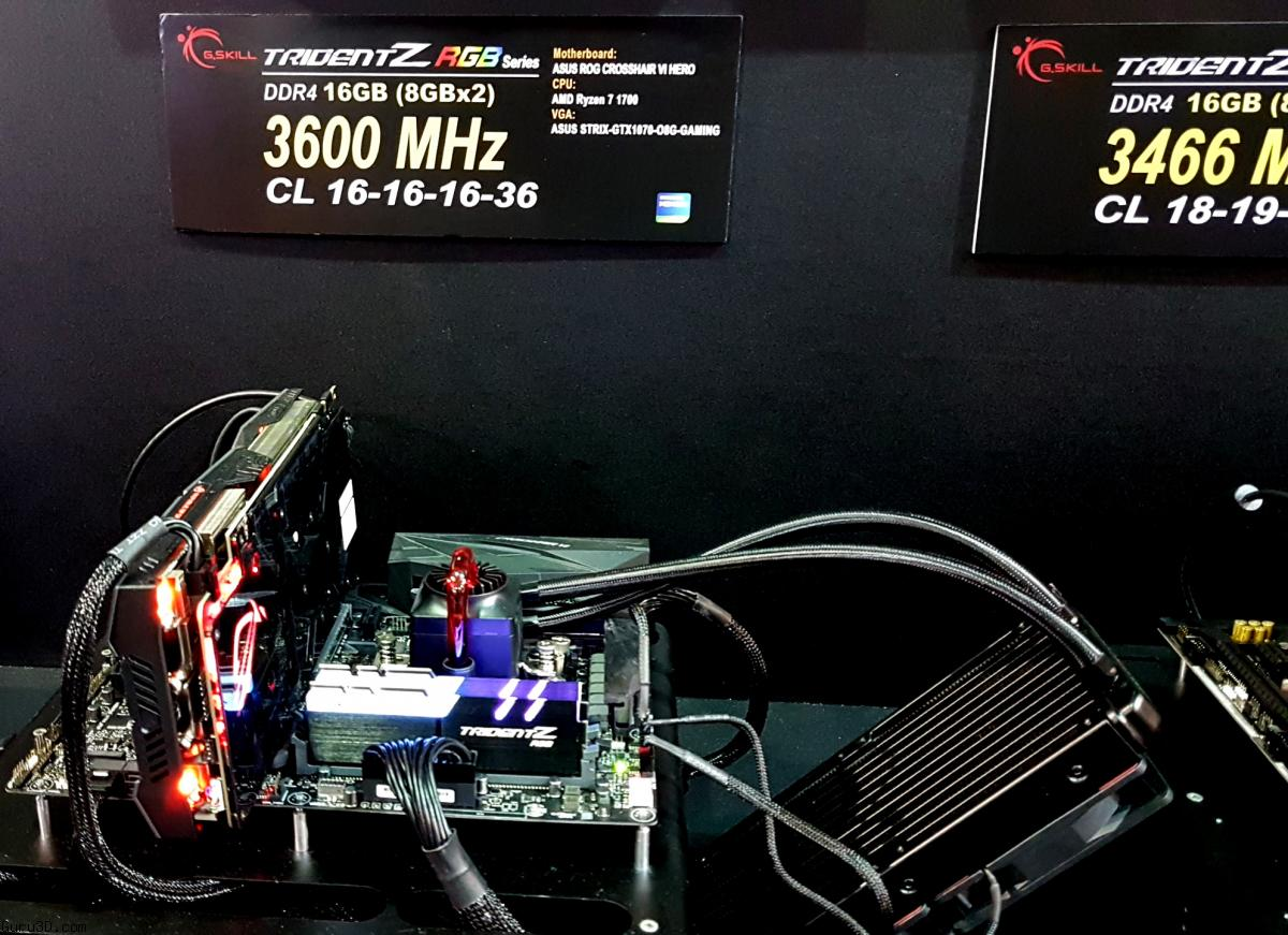 Computex 2017: G Skill Has Seriously fast Memory Running at