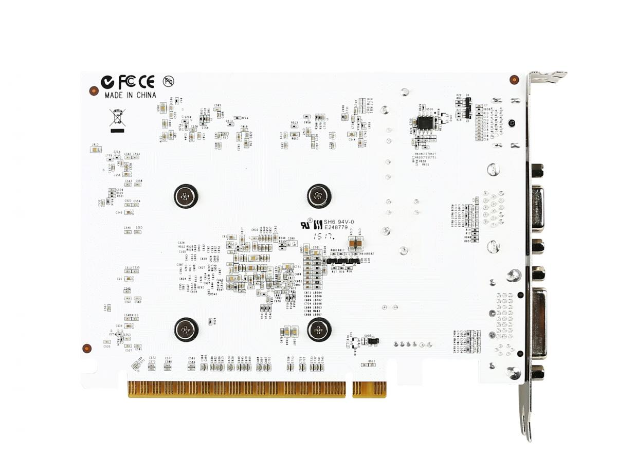 Experimenting with white PCB graphics cards