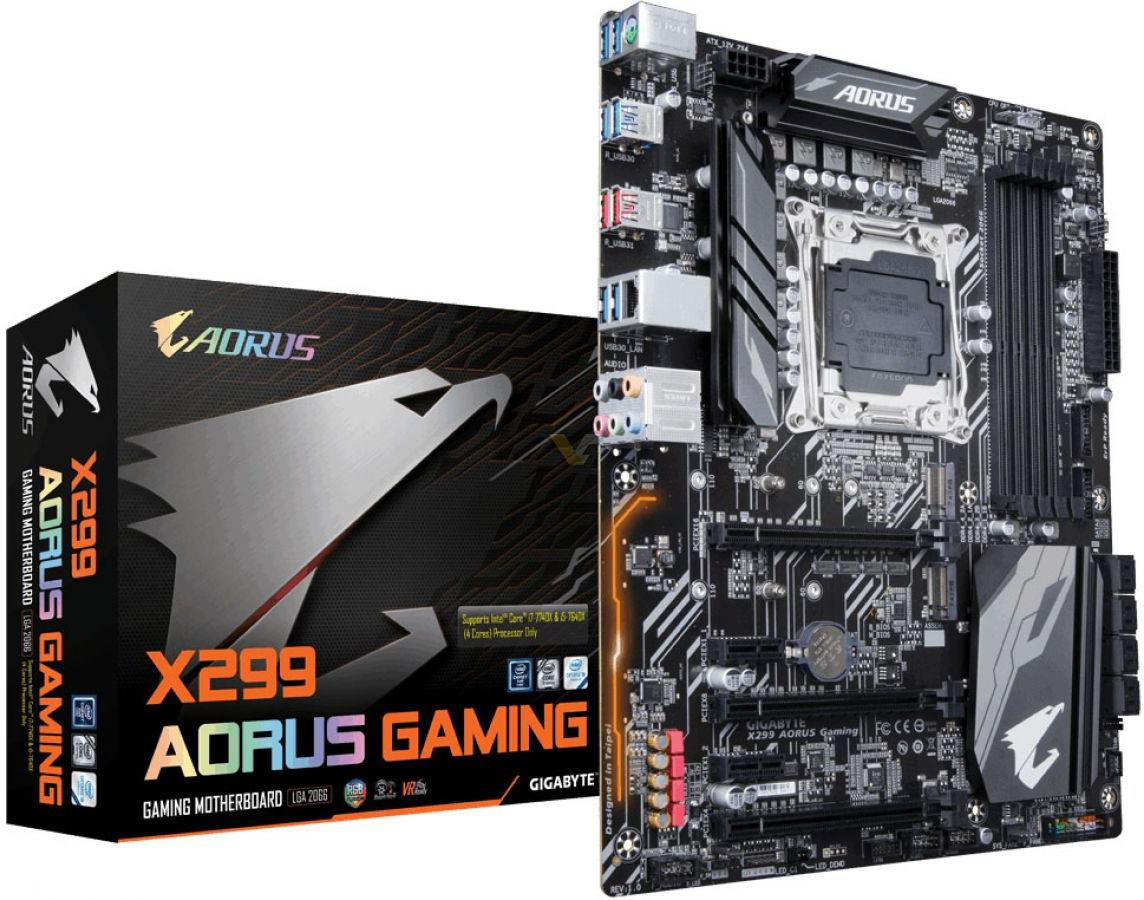 Gigabyte and MSI To Release Kaby-Lake-X Specific Motherboards