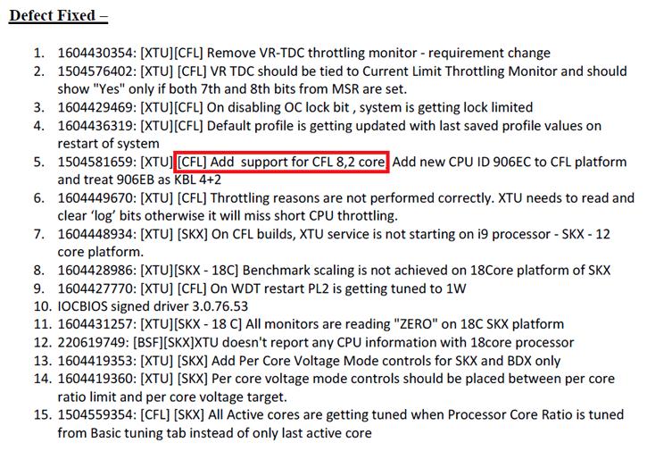 Intel 8-core LGA1151 Processor For Z390 Could Be 14 nm Coffee Lake