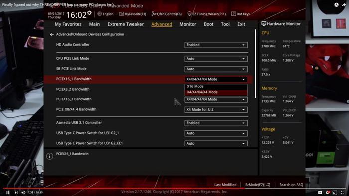 Eight NVMe M2 SSDs in RAID on X399 Threadripper Reach 28 GB/s