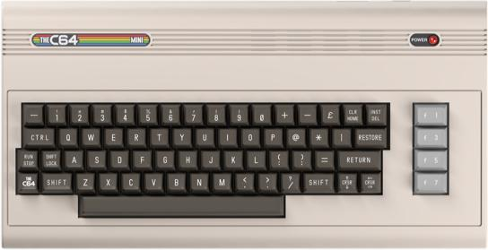 C64 MINI Launches Early 2018