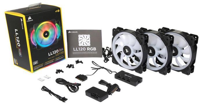Corsair Releases LL Series RGB LED Fans